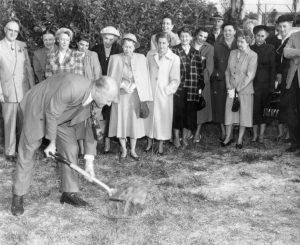 Manatee Players Groundbreaking 1952